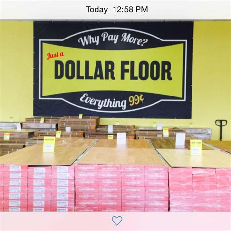 Dollar Floor by Just A Dollar Floor Key Largo Florida Keys