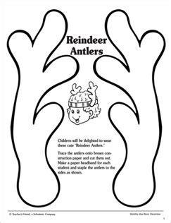 printable reindeer antlers pdf best 25 reindeer antlers ideas on pinterest deer ears
