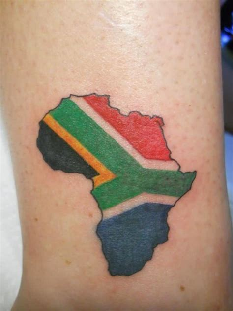 tattoo goo south africa africa map tattoos and photo ideas