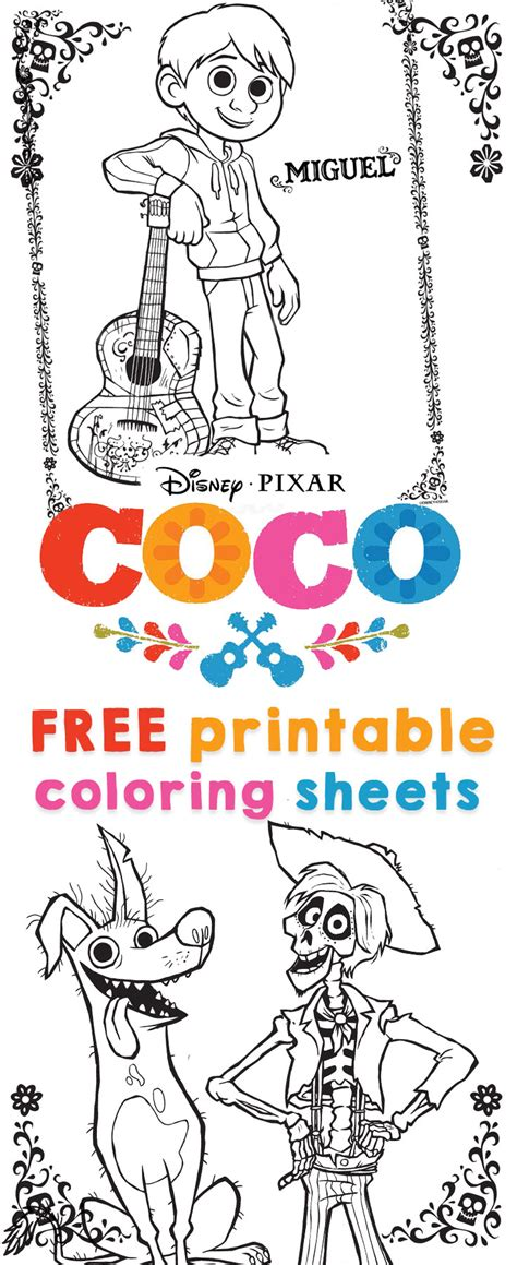 coco coloring book disney pixar coco coloring pages for boys and books 100 disney pixar coloring pages free disney pixar