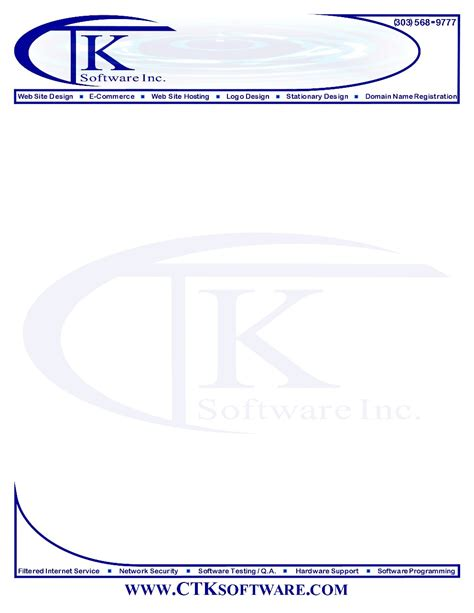 Business Letterhead Template letterhead sles for construction company for estimate