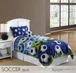 Soccer Bed Set Hallmart Soccer Blue Comforter Set Boys Soccer Bedding Hallmart Collectibles 64016 Justin