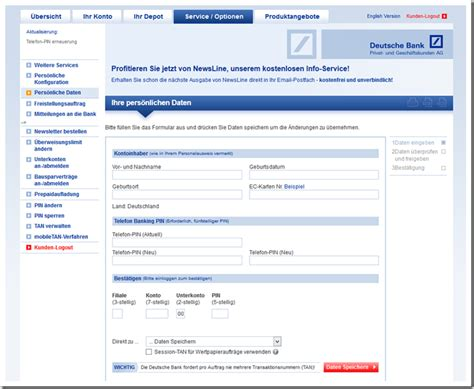 www deutsche bank de onlinebanking deutsche bank ag telefon pin internetbetr 252 ger versenden
