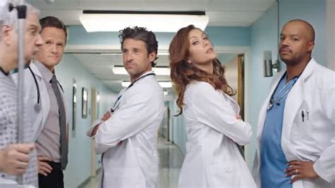 grey s anatomy addison actor kate walsh and patrick dempsey have surprise grey s