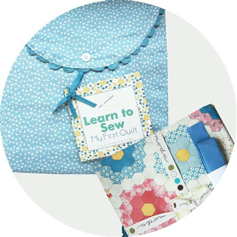 Learn To Quilt by Learn To Sew Quilt Modern Lola