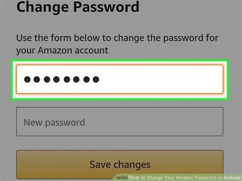 change password on android how to change your password on android 8 steps