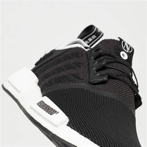 Adidas Nmd R1 Neighborhood Black White the invincible x neighborhood x adidas nmd r1 releases
