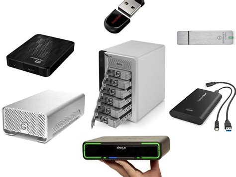 storage devices best storage devices from usb flash drives to raid units zdnet