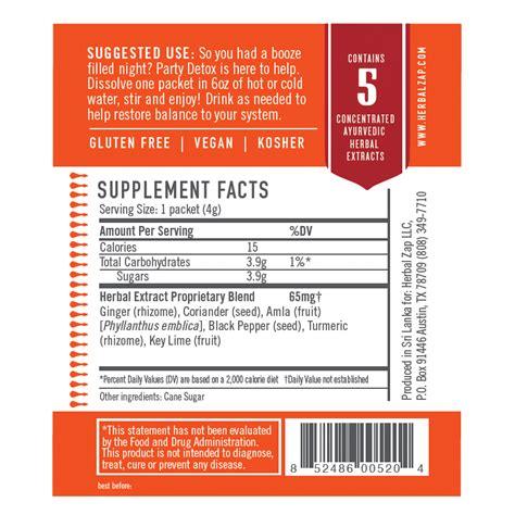 Herbal Zap Detox by Detox 25 Packet Box Herbal Zap Ancient Ayurvedic