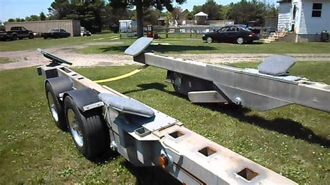 boat transport trailers for sale conolift trailter yh 812 hydraulic boat trailer youtube