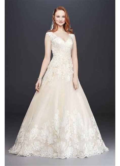 davids bridal beautifull hairstyles davids bridal v neck scalloped lace and tulle wedding dress david s bridal