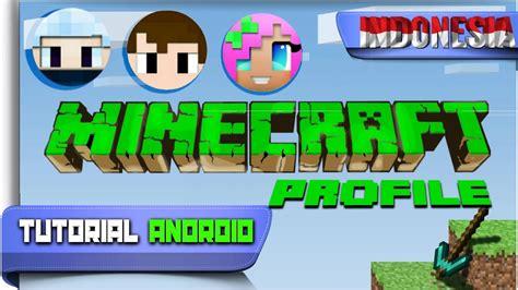 tutorial android keren cara bikin cartoon minecraft keren untuk profile sosmed mu