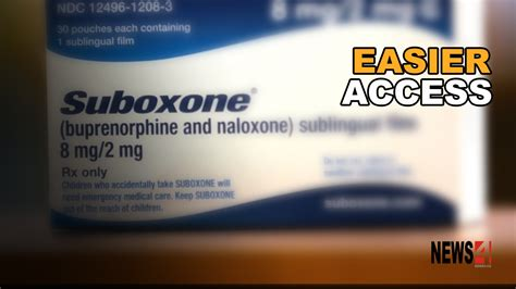 4 Mg Subutex Detox by Province Improves Access To Suboxone For Those Recovering