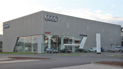 Audi Werkstatt Ingolstadt by Neuer Audi Terminal In Arnstadt Autohaus De