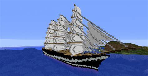 huge boat huge boat kruzenshtern minecraft project