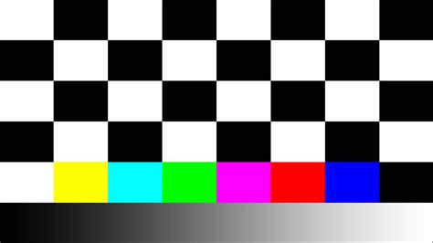 test pattern for led tv chess pattern for samsung tv calibration youtube