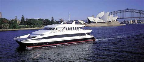 catamaran harbour cruise sydney 2 hour buffet lunch cruise on sydney harbour luxury