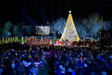 the lighting of the national christmas tree