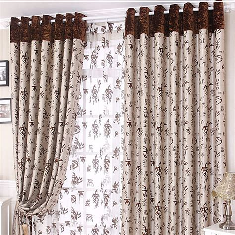 cool blackout curtains thick blackout coffee chinese style cool curtains