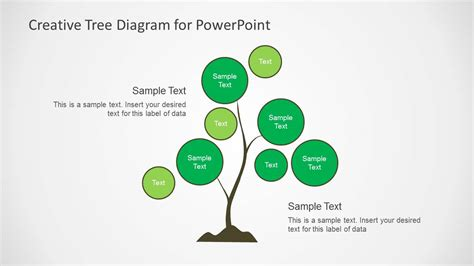 Creative Tree Diagrams For Powerpoint Slidemodel Powerpoint Tree Diagram
