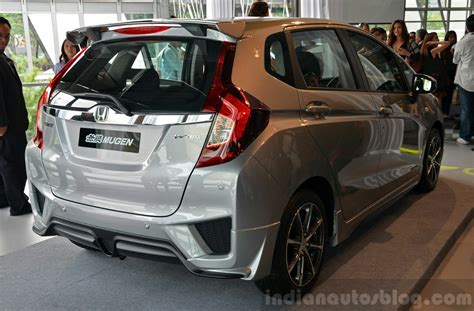 Spoiler Mugen With L Grand All New Jazz 2014 2014 honda jazz launched in malaysia with 2 bodykits