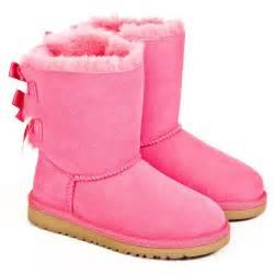 Australia authorised retailer cerise bailey bow kids pink ugg 174 boot