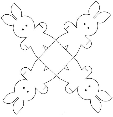 easter craft templates easter colouring easter bunny paper craft printable activity