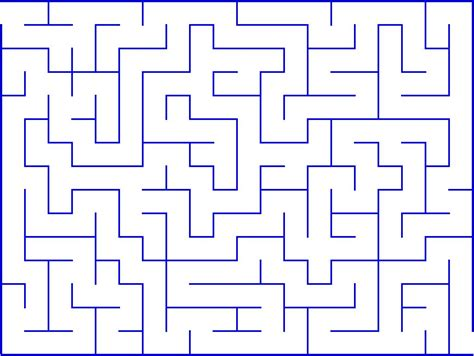 printable mazes intermediate mazes for kids