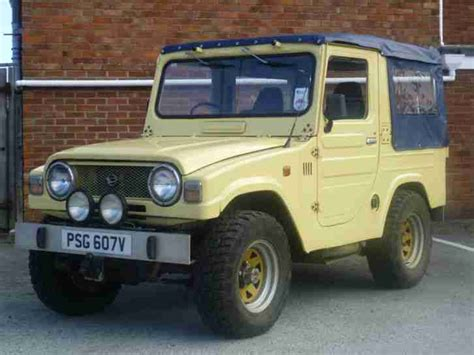 daihatsu jeep diahatsu f20 taft 4x4 similiar to jeep or early land rover