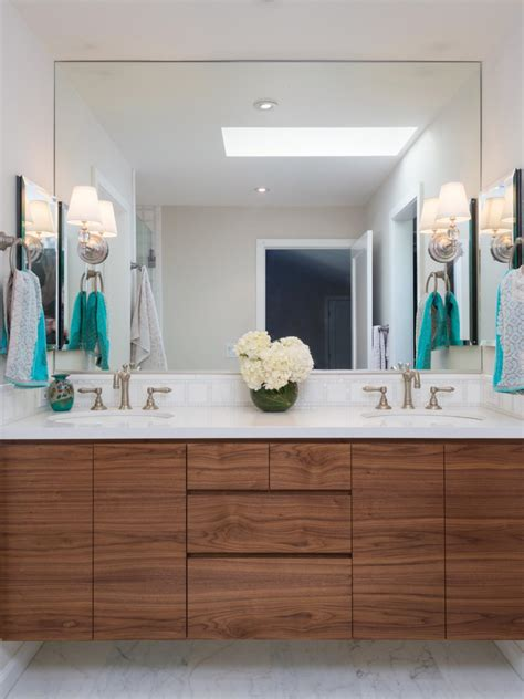 kitchen and bath cabinets vanities home decor design ideas photos hgtv white transitional bathroom with custom