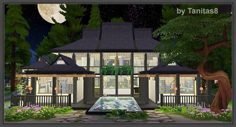 asian house sims 4 asian house