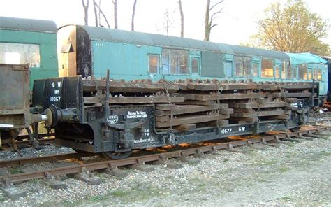 Railway Sleepers Swindon by Bluebell Railway Wagons Gwr Sleeper Wagon 100677