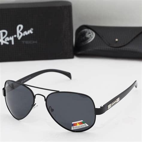 jual kacamata sunglasses pria cowo rayban 5213 hitam