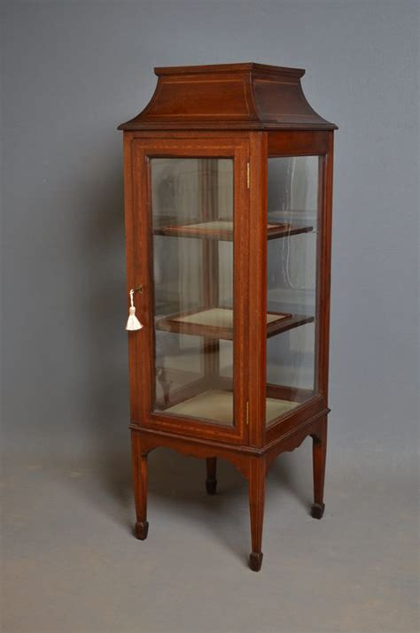 Display Cabinets Antique Edwardian Display Cabinet Vitrine Antiques Atlas