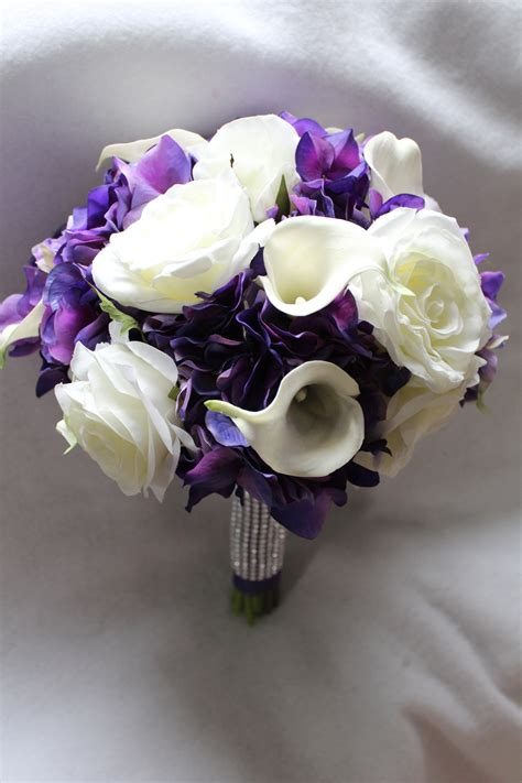 Order Bridal Bouquet by Order Silk Wedding Flowers Is Blooming