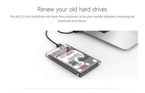 Hdd Hardisk External Orico 2139u3 2 5 Inch Transparan Original orico 2139u3 clear transparent tool free usb 3 0 external