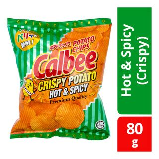 Calbee Crispy Potato calbee potato chips spicy crispy