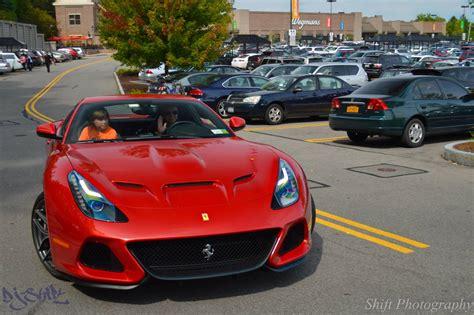 ferrari one off one off 2015 ferrari f12 sp america snapped in public
