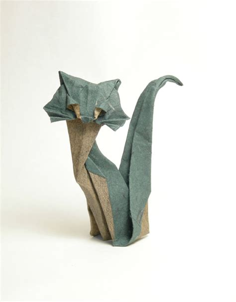 Origami Lemur - works by diaz