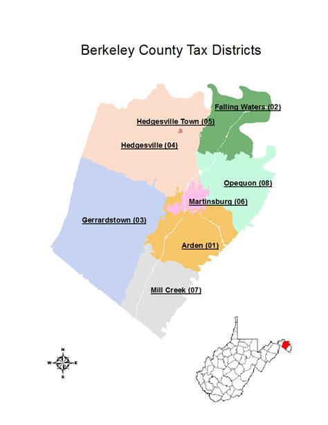 Berkeley County Records Tax Districts