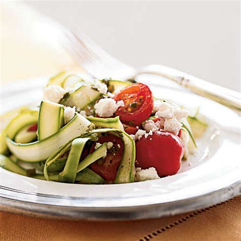 Cooking Light Summer Recipes by Asparagus Ribbons With Lemon And Goat Cheese Superfast