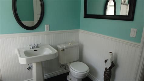 1940s bathroom design 1940 s bathroom remodel old in yellow new in blue