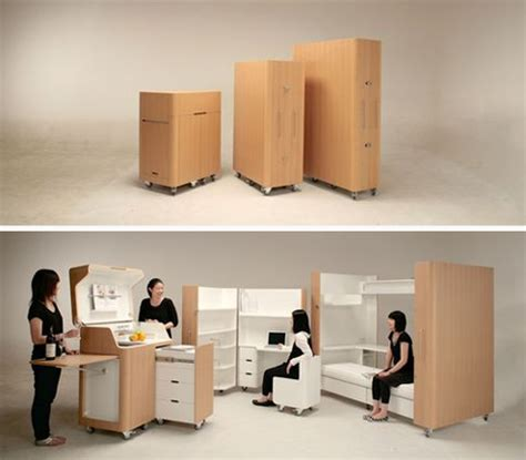 the room box office rooms in boxes space saving bedroom office kitchen