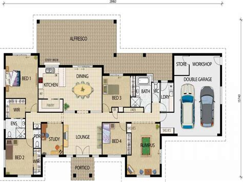 Open Floor Plan Farmhouse Plans by Best Open Floor House Plans Open Plan House Designs Best
