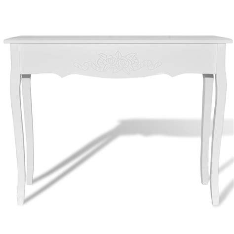 tavolo consolle bianco articoli per tavolo consolle bianco vidaxl it