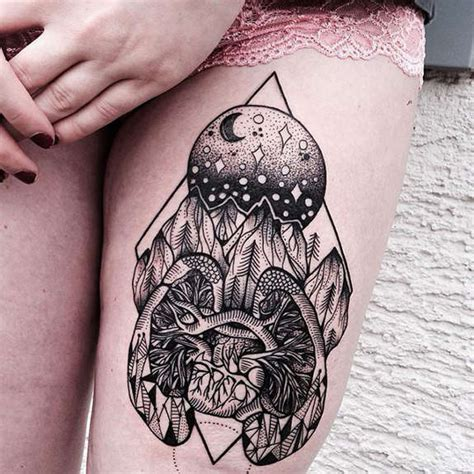 image gallery lungs and heart tattoo