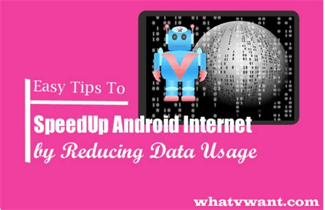 Modem Speedy Up 5 tips to speed up android by reducing data usage