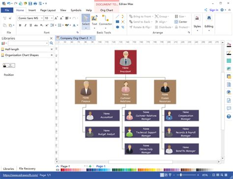 organisation chart creator top 5 organizational chart program 2017 org charting