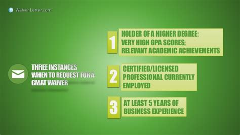 Uco Mba Score Report Waiver by Three Instances When To Request For A Gmat Waiver