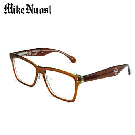 Handmade Optical Frames - mikenuosl unisex handmade acetate eyewear optical frame